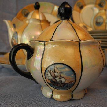 Juego de té Fragatas