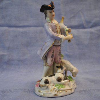 Porcelana Meissen de Gaitero