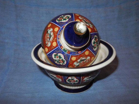 Potiche Porcelana Italiana 1900