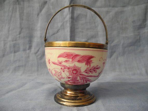 Bombonera Porcelana Meissen