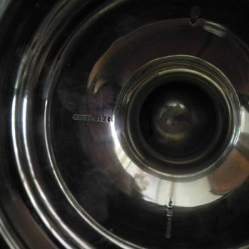 Oxigenador de vinos en Plata Solida Schonfeld