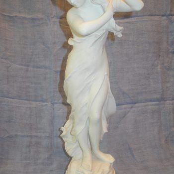 Estatua Sevres De Biscuit 53 Cm De Alto