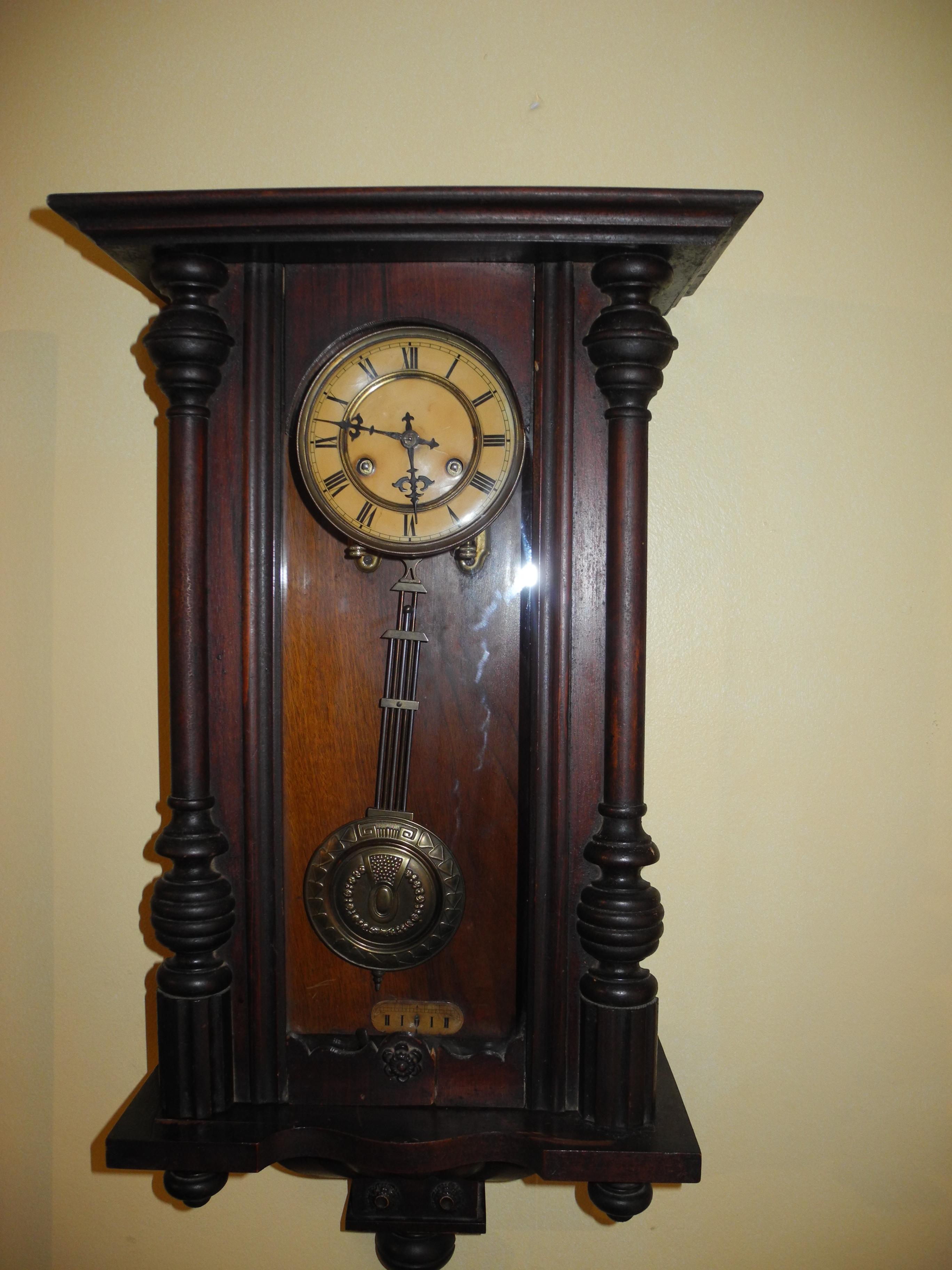 Reloj aleman de la famosa casa junghans antiguo venta - Reloj de pared de diseno ...