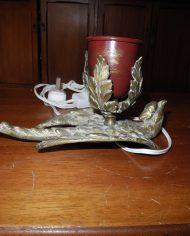 Lampara Bronce Con Casquete – VENDIDA 5