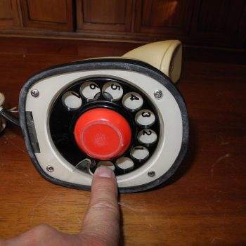 Telefono Vintage estilo Hollywood - VENDIDO