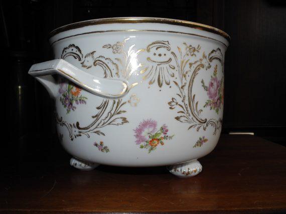 Frutero Porcelana Meissen Con Sus Sellos