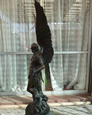 Imponente Escultura De Bronce - VENDIDA