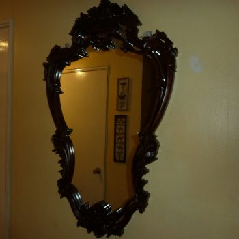 Impactante Espejo De Madera