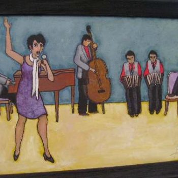 Acuarela Pintor Argentino Velarde