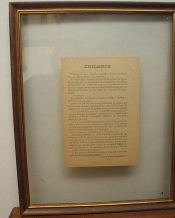 Proclama a Chilenos de La Alianza Liberal - 1876