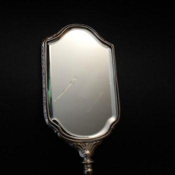 Espejo De Plata 925 con sus Sellos