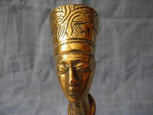 Estatua Bronce Influencia Egipcia Art Nouveau