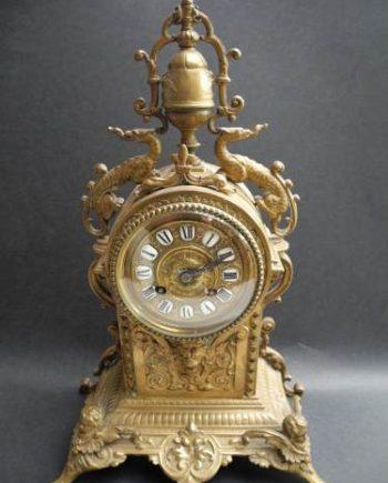 Fino Reloj De Mesa . Art Nouveau 1900