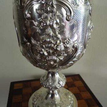Jarra o Goblet en Plata Inglesa solida - 1864