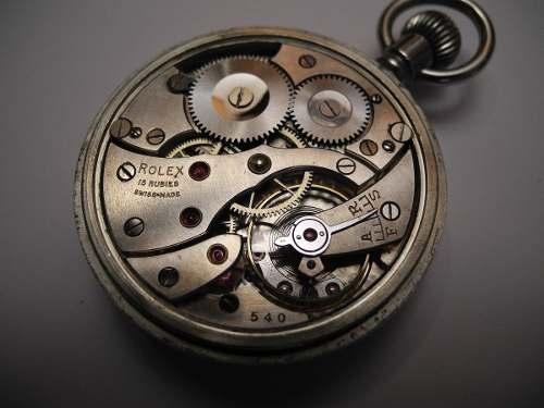 ba28500d953 Reloj De Bolsillo Rolex Legitimo Plata 2