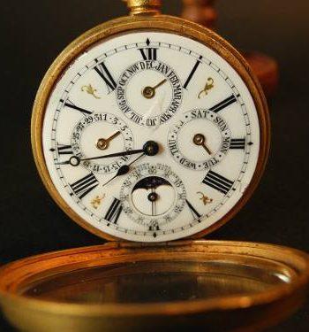 Reloj De Bolsillo Suizo C.1900