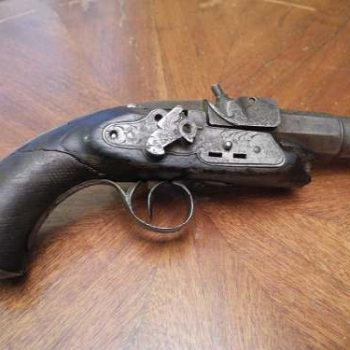 Replica De Revolver Antiguo 1810-1820