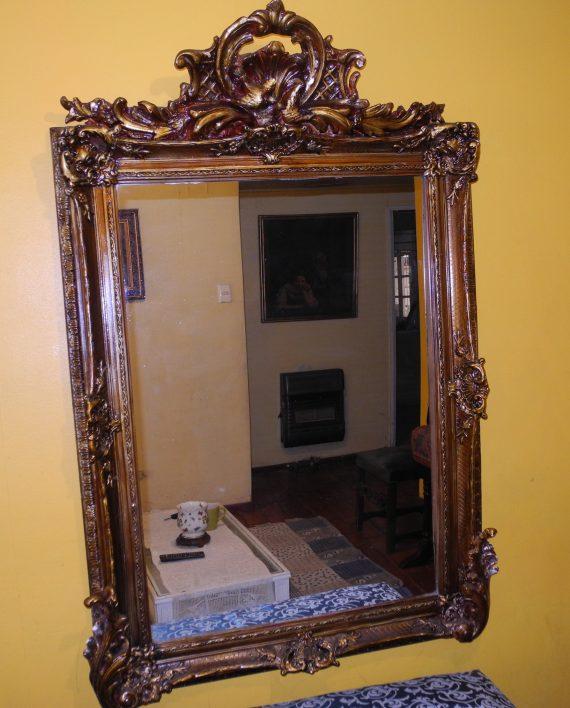Gran espejo antiguo un toque se orial en su casa venta - Espejos antiguos grandes ...