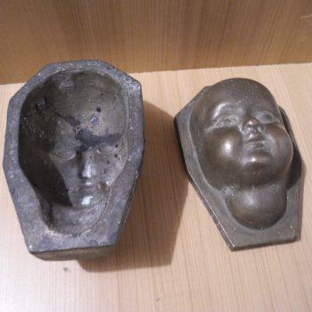 Crucifijo Antiguo De Bronce