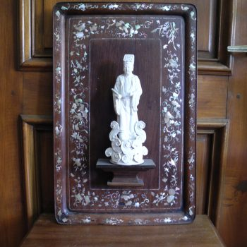 Porcelana Francesa De Mujer. Estilo Luis Xv Decorada A Mano
