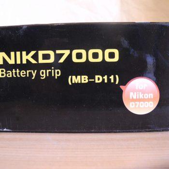 Cargador Auxilia De Bateria Nuevo Para Nikon D 7000