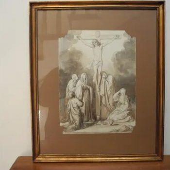 Bocetos A Tinta Y Lapiz Siglo XVIII