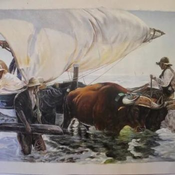Pintura Moderna al estilo de Sorolla