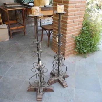Lampara Antigua De Alabastro Y Bronce