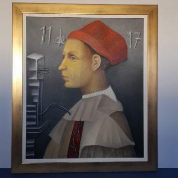 Pintura / Obra de Carmen Aldunate / Escuela chilena.